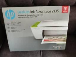 Impressora multifuncional HP 2135 jato de tinta