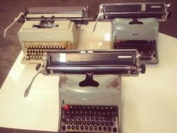 Maquinas de Escrever Olivetti e Lexiton Antigas