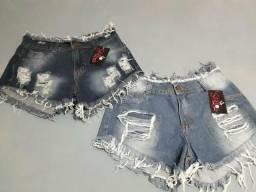 Shorts femininos tamanho 44