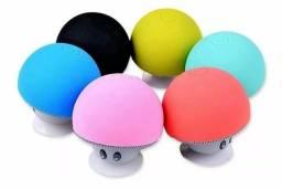 Caixinha de som Cogumelos Bluetooth