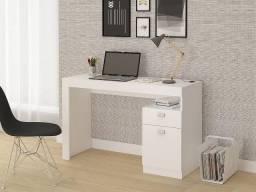 Mesa melissa para computador - com gaveta e porta