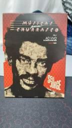 Dvd Seu Jorge - musicas para churrasco - especial duplo