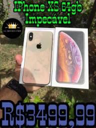 IPhone XS 64gb conservadíssimo (parcelamos no cartão e aceitamos usados )