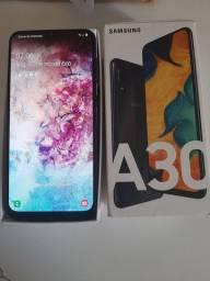 Vendo ou troco Samsung A30 IMPECÁVEL