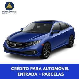 CIVIC HONDA EXL - ENTRADA + PARCELAS