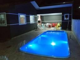 aluguel de casa com piscina guaratuba