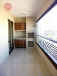 Apartamento com 3 dormitórios para alugar, 115 m² por R$ 2.350,00/mês - Jardim Botânico -