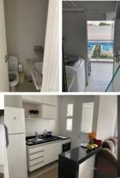 Apartamento com 1 dormitório para alugar, 50 m² por R$ 1.800,00/mês - Jardim Tarraf II - S