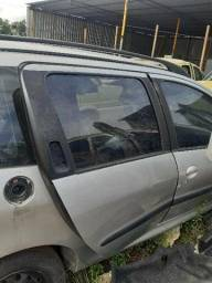 Porta traseira direita Peugeot 206 Sw usado