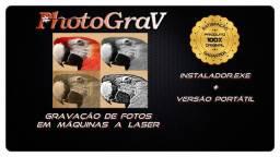 Programa PHOTOGRAV ORIGINAL PARA GRAVAÇÃO DE FOTOS EM MÁQUINA LASER<br>