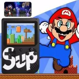 Video game portátil 400 jogos classicos da nintendo novo últimas unidades