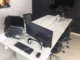 Mesa de reunião, escritório