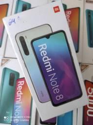 Redmi Note 8 da Xiaomi.. Novo Lacrado# com garantia e entrega imediata.. cartão
