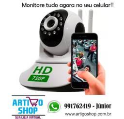 Camera Seguranca Sem Fio Ip 1.3 Mp Hd 720 Antena Dupla