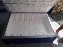 caixa de isopor  nova .295 litros