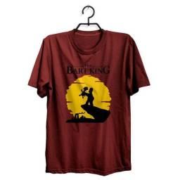 Camiseta The Bart King Os Simpsons
