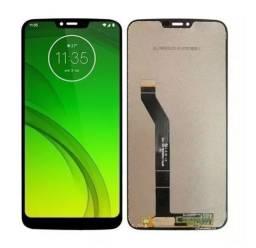 Display Completo / Tela Para Motorola Moto G7 Power XT1955. Instalação Imediata!
