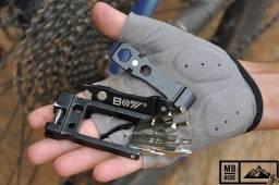 Canivete de ciclismo com 19 funções