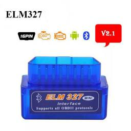 Scanner Bluetooth ELM 327 Automotivo (Apaga erro) v2.1