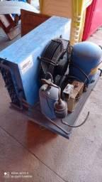 Câmera fria 2.30x2.30 trifásico 220 motor hp2/5