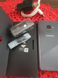 Samsung S9 sem detalhes com caixa