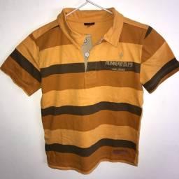 Camisa Gola Polo Infantil - 6 anos
