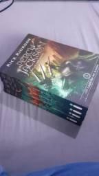 Rick Riordan: Percy Jackson livros I, II, III, V