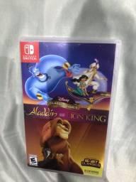 Jogo Nintendo switch - Aladdin e Rei leão