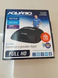 Conversor e gravador digital - Aquário DTV-5000