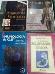 Livros para acadêmicos em enfermagem ou Medicina