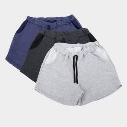 Shorts moletons
