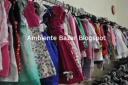 Lote Para Brechó Infantil 150 Peças Sortidas Cod 6