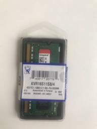 Memória Kingston DDR3 4GB Notebook PREÇO INCONTESTÁVEL