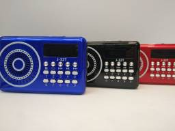 Rádio retrô portátil com bluetooth radio entrada de pendrave