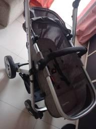 Carrinho de bebê Moisés e bebê conforto (fisher price)