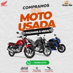Título do anúncio: Compramos sua moto usada!!