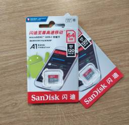 SanDisk Cartão de Memória de 64GB