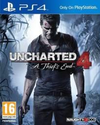 Título do anúncio: Uncharted 4 de Ps4