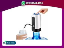 Bomba Elétrica Water Dispenser Automatico Galão Recarregável