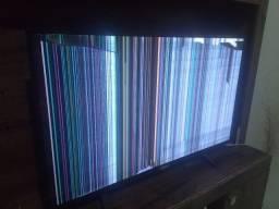Smart TV 43 Philips, com defeito na tela