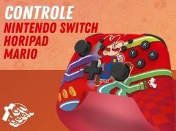 Controle Nintendo Switch Sem fio Horipad - Edição Mario   Lacrado com garantia