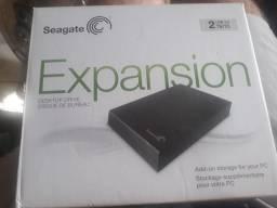 HD externo  Seagate  2TB  Usb 3.0