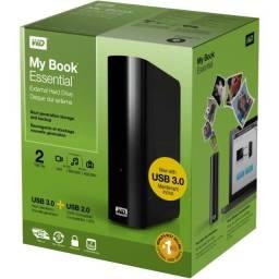 HD Externo 2TB (USB 3.0) - My Book Essential Western Digital