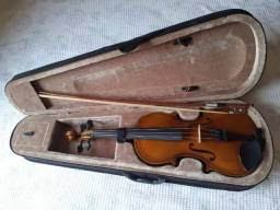 Violino Nunca usado +case  por um preço barato (20% de desconto)