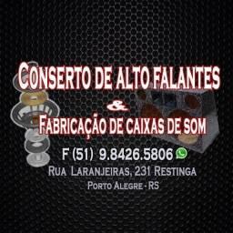 Título do anúncio: Conserto de Alto Falantes & Fabricação de Caixas de Som