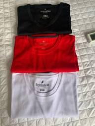 Camisa Pima TAM XGG várias cores (novinha)