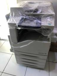 Impressora laser xerox wc7435 colorida