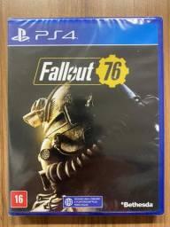 Fallout 76 Ps4 - Midia Fisica - Lacrado - Português
