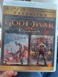 Jogo God of war Collection ps3