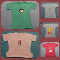 T-shirts e cropped femininos